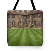 Green College Yard Tote Bag