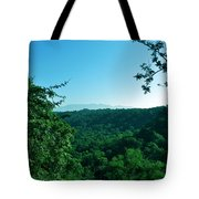 Green Cover Tote Bag