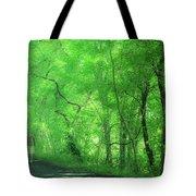 Green Creeper Tote Bag