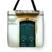 Green Door 6 Tote Bag