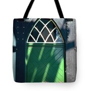 Green Door Tote Bag