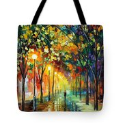 Green Dreams Tote Bag by Leonid Afremov