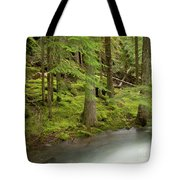 Green Eden Tote Bag