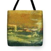 Green Edge Tote Bag