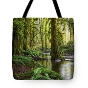 Green Everywhere Tote Bag