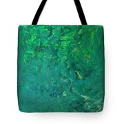 Green Exoplanet Surface Tote Bag