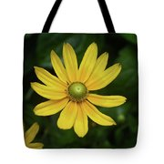Green Eyed Daisy Tote Bag