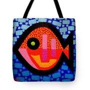 Green Eyed Fish  Tote Bag