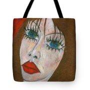 Green Eyed II  Tote Bag