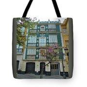 Green Facade Cadiz Tote Bag