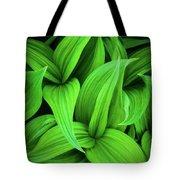 Green False Hellebore Tote Bag