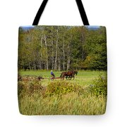Green Farming Tote Bag