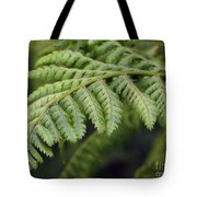 Green Fern Tote Bag