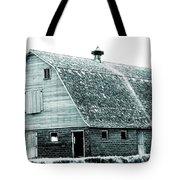 Green Field Barn Tote Bag