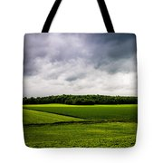 Green Fields Tote Bag