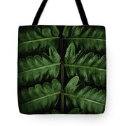 Green Foilage Of Indonesia Tote Bag