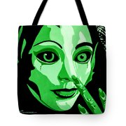 Green Forest Fairy Tote Bag