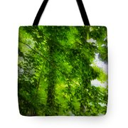 Green Forest Trees 1 Tote Bag