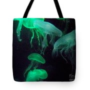 Green Freakiness Tote Bag