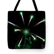 Green Glow Tote Bag