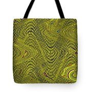 Green Grass Behind The Fence #9 Tote Bag