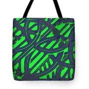 Green Grate Tote Bag