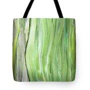 Green Gray Organic Abstract Art For Interior Decor Vi Tote Bag