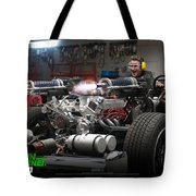Green Hornet Tote Bag