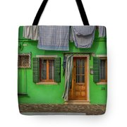 Green House And Hanging Wash_dsc5111_03042017 Tote Bag