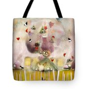 Green House  Tote Bag