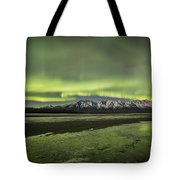 Green Ice Tote Bag