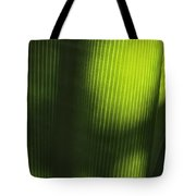 Green Illusions Tote Bag