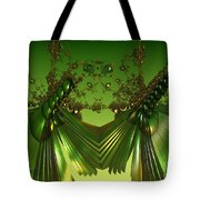 Green Insects  Tote Bag