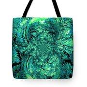 Green Irrevelance Tote Bag