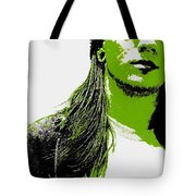 Green Is In Tote Bag