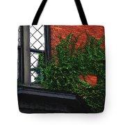 Green Ivy Garnet Brick Tote Bag