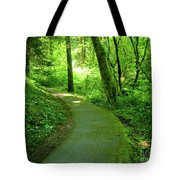 Green Journey Tote Bag