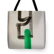 Green King Tote Bag