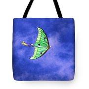 Green Kite Tote Bag