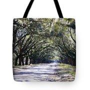 Green Lane Tote Bag