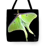 Green Lantern Moth Tote Bag
