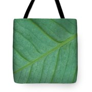 Green Leaf 1 Tote Bag