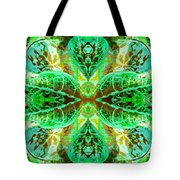Green Leafmania 3 Tote Bag