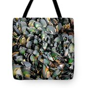 Green Lipped Muscles Tote Bag