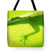 Green Lizard Tote Bag