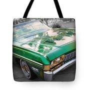 Green Low Rider Tote Bag