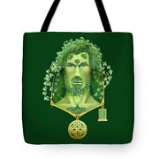 Ivy Green Man Tote Bag