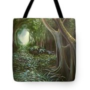 Green Mansions Tote Bag