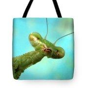 Green Martian Tote Bag