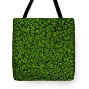 Green Micropets Tote Bag